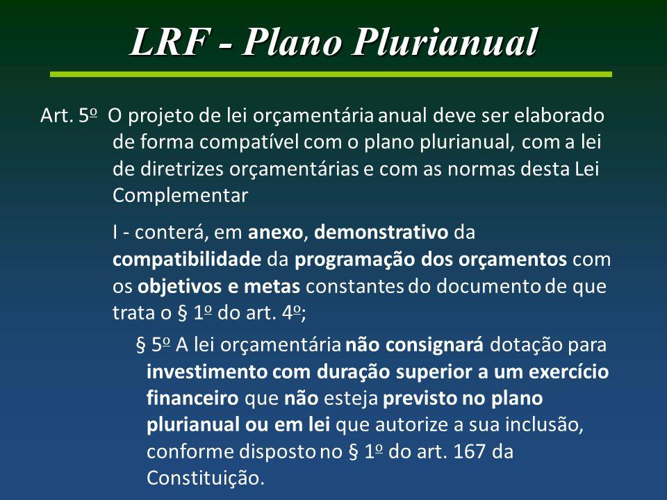 LRF - Plano Plurianual