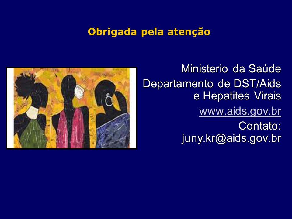 Departamento de DST/Aids e Hepatites Virais www.aids.gov.br