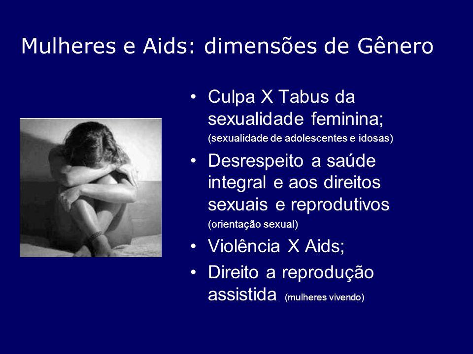 Mulheres e Aids: dimensões de Gênero