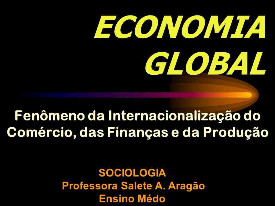 SOCIOLOGIA Professora Salete A. Aragão Ensino Médo