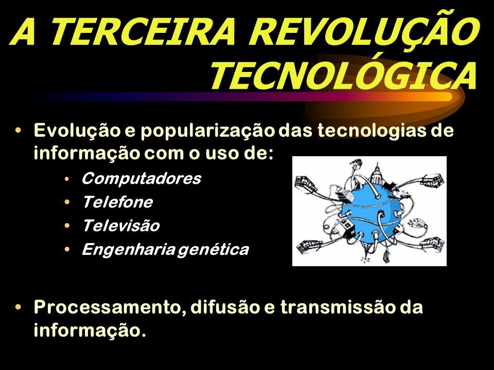 A TERCEIRA REVOLUÇÃO TECNOLÓGICA