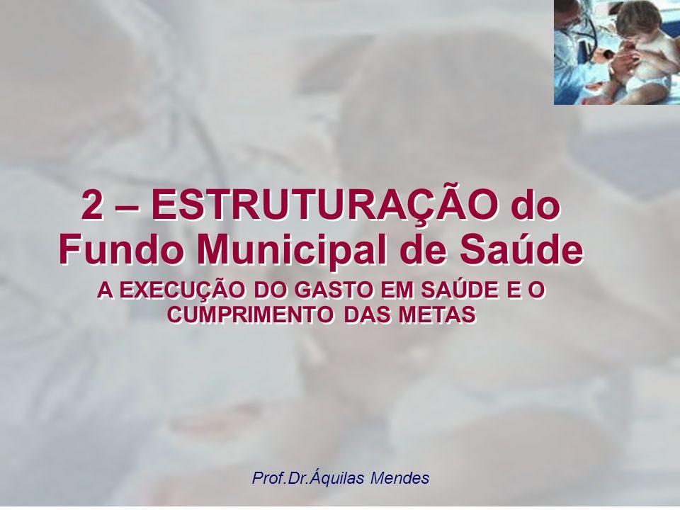 2 – ESTRUTURAÇÃO do Fundo Municipal de Saúde