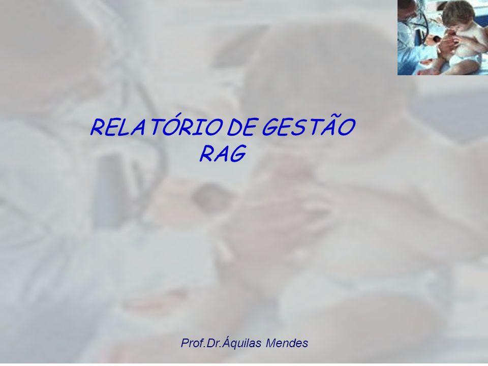 RELATÓRIO DE GESTÃO RAG