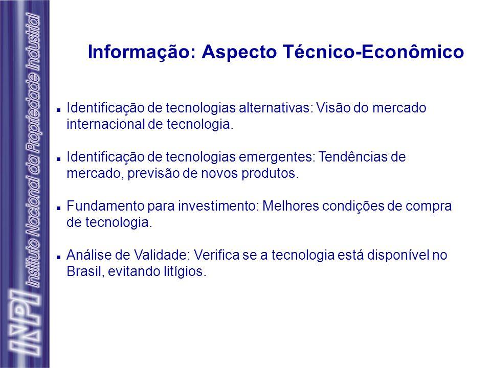 Informação: Aspecto Técnico-Econômico