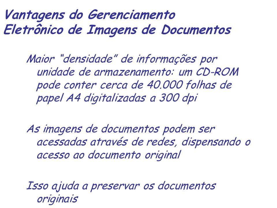 Vantagens do Gerenciamento Eletrônico de Imagens de Documentos