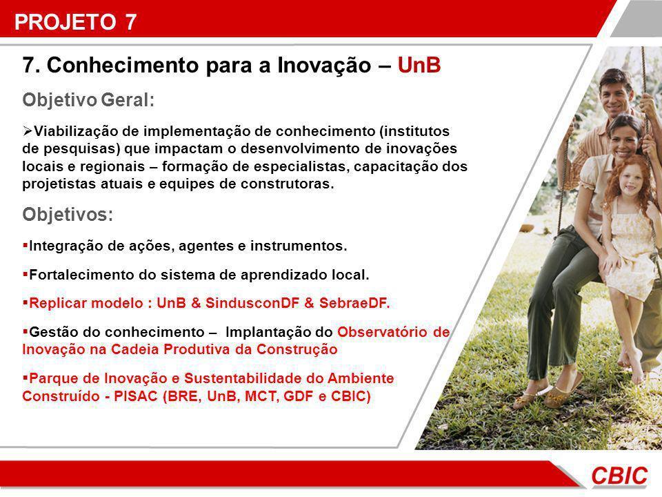 7. Conhecimento para a Inovação – UnB