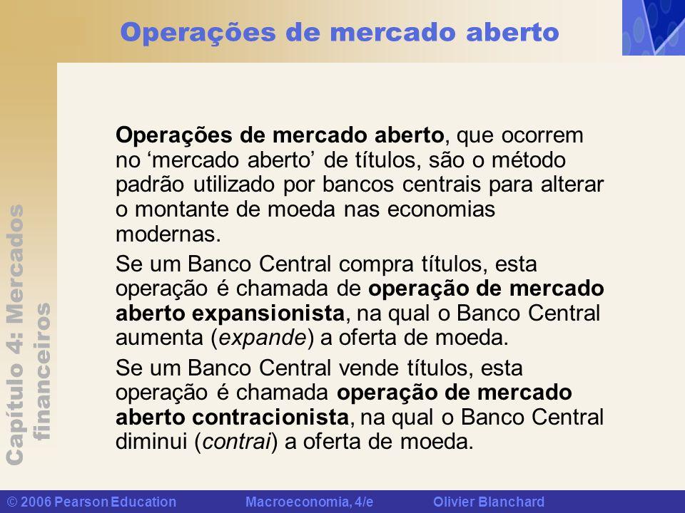 Operações de mercado aberto