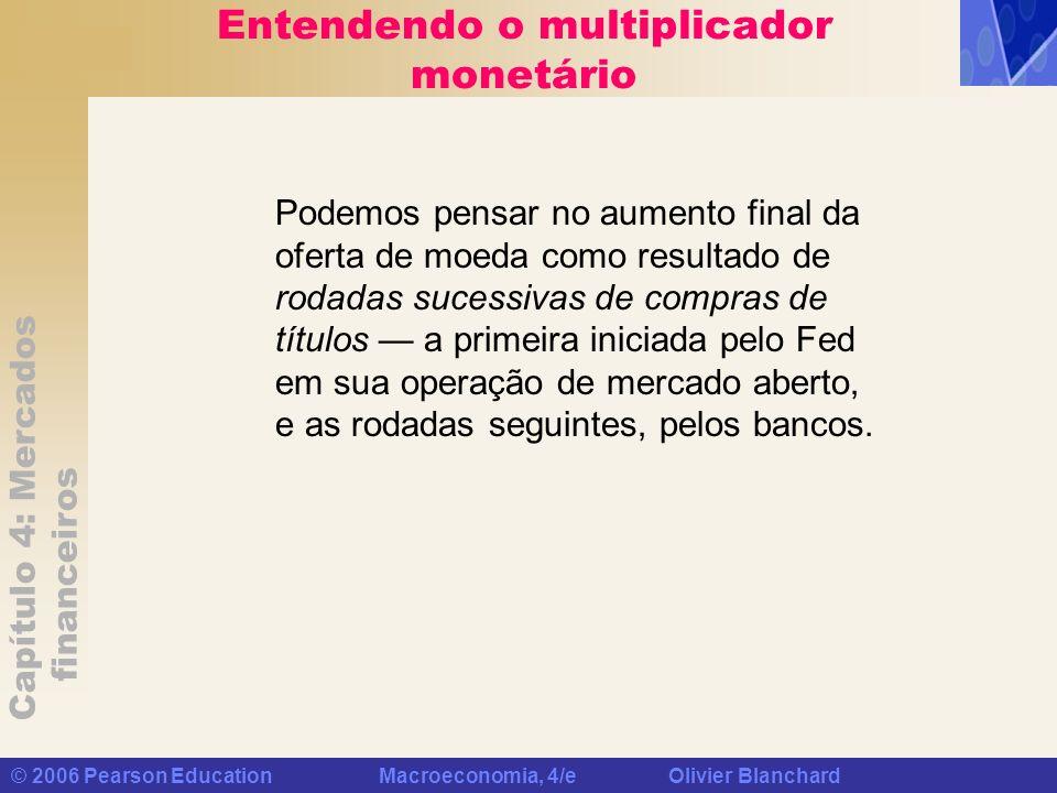 Entendendo o multiplicador monetário