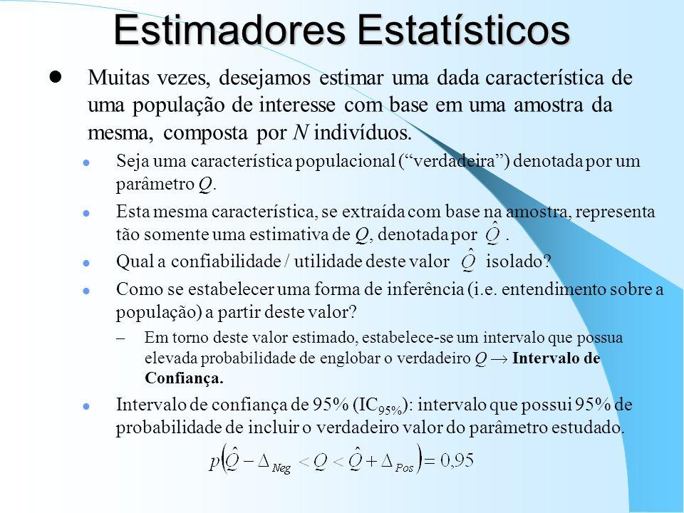 Estimadores Estatísticos