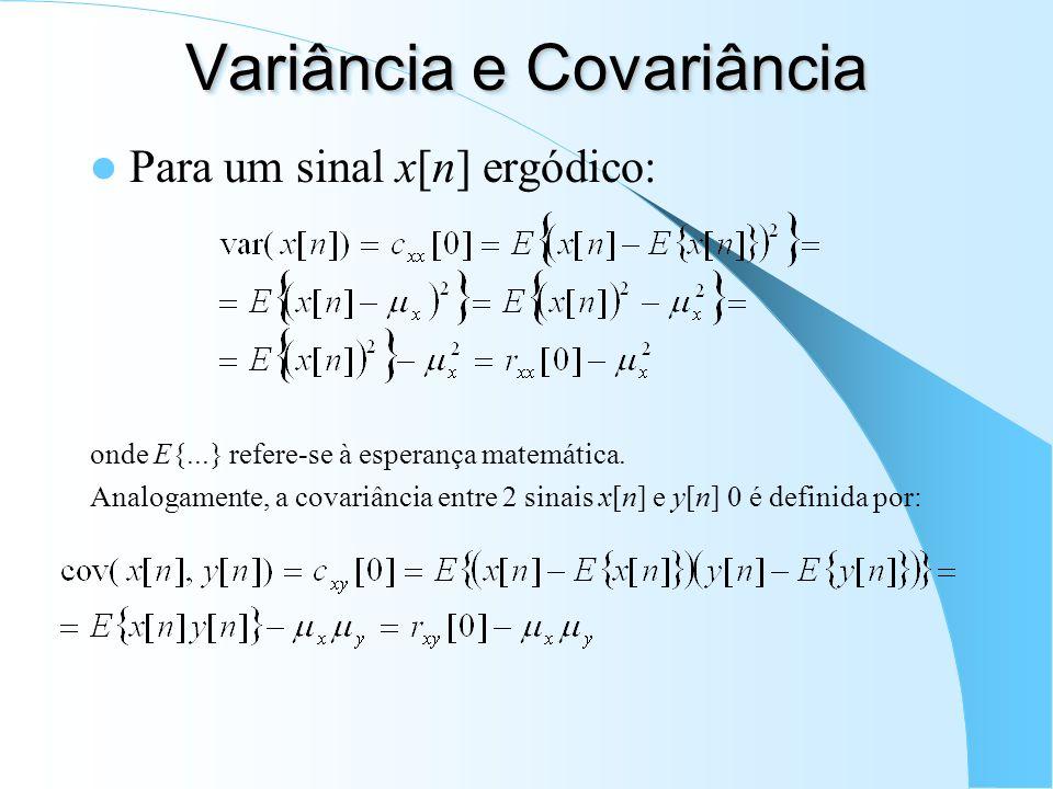Variância e Covariância