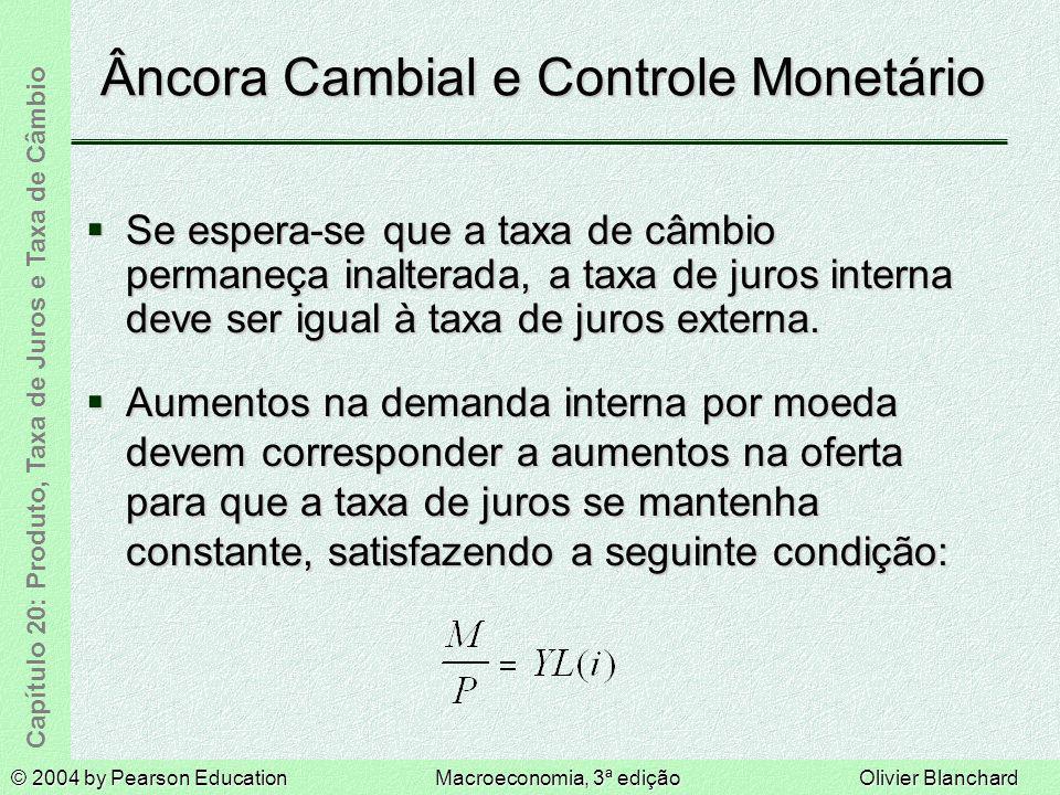 Âncora Cambial e Controle Monetário