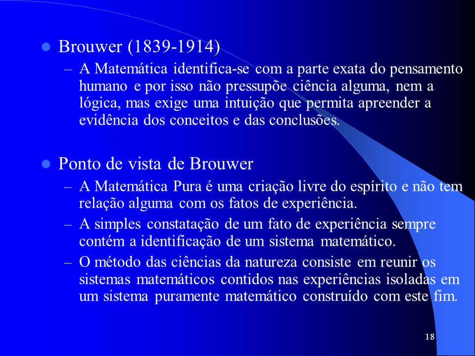 Ponto de vista de Brouwer