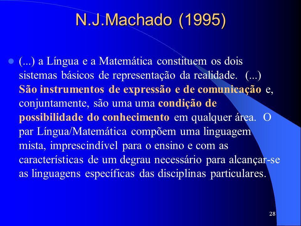 N.J.Machado (1995)