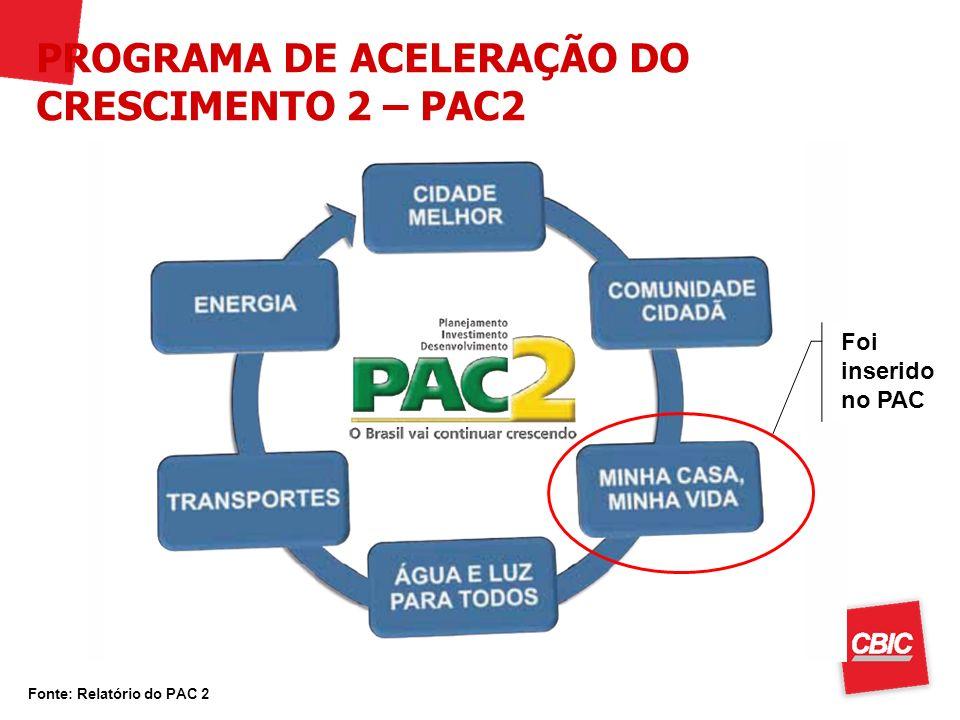PROGRAMA DE ACELERAÇÃO DO CRESCIMENTO 2 – PAC2