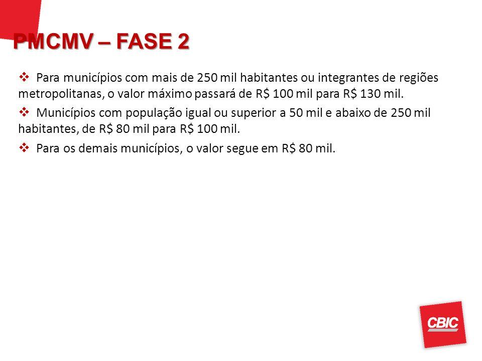 PMCMV – FASE 2