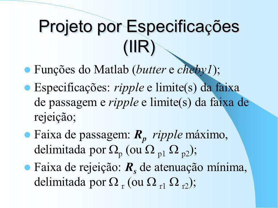 Projeto por Especificações (IIR)