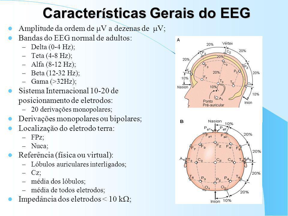 Características Gerais do EEG