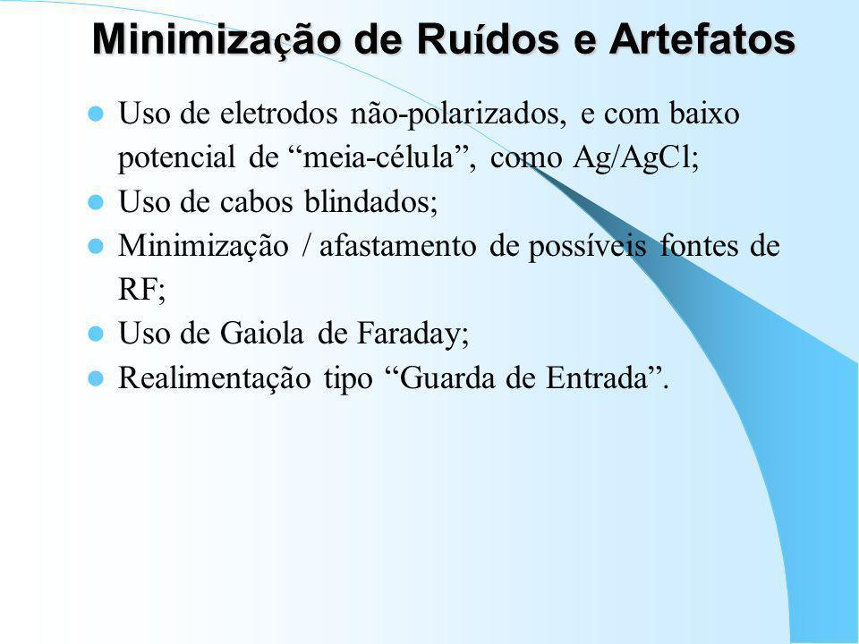 Minimização de Ruídos e Artefatos
