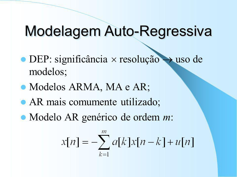 Modelagem Auto-Regressiva