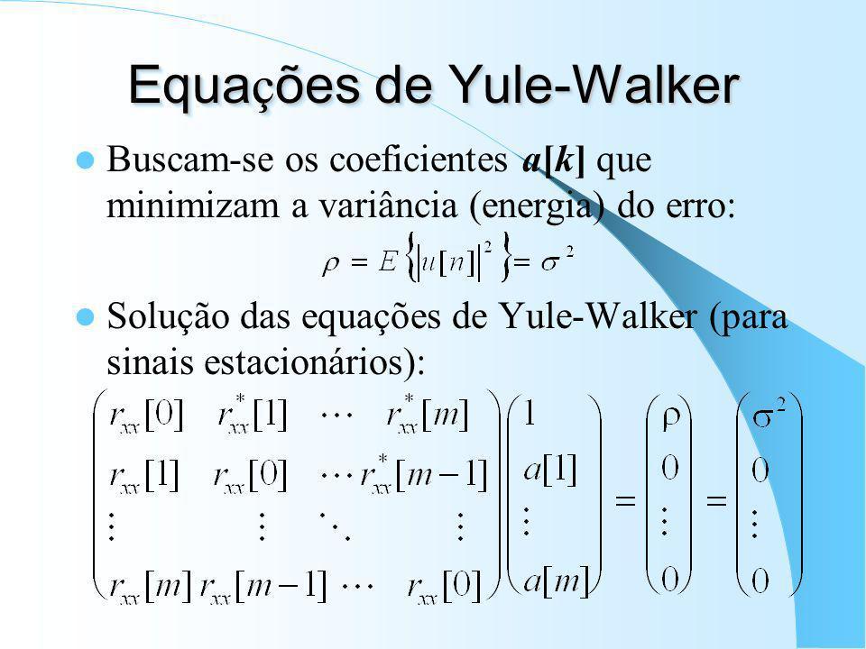 Equações de Yule-Walker