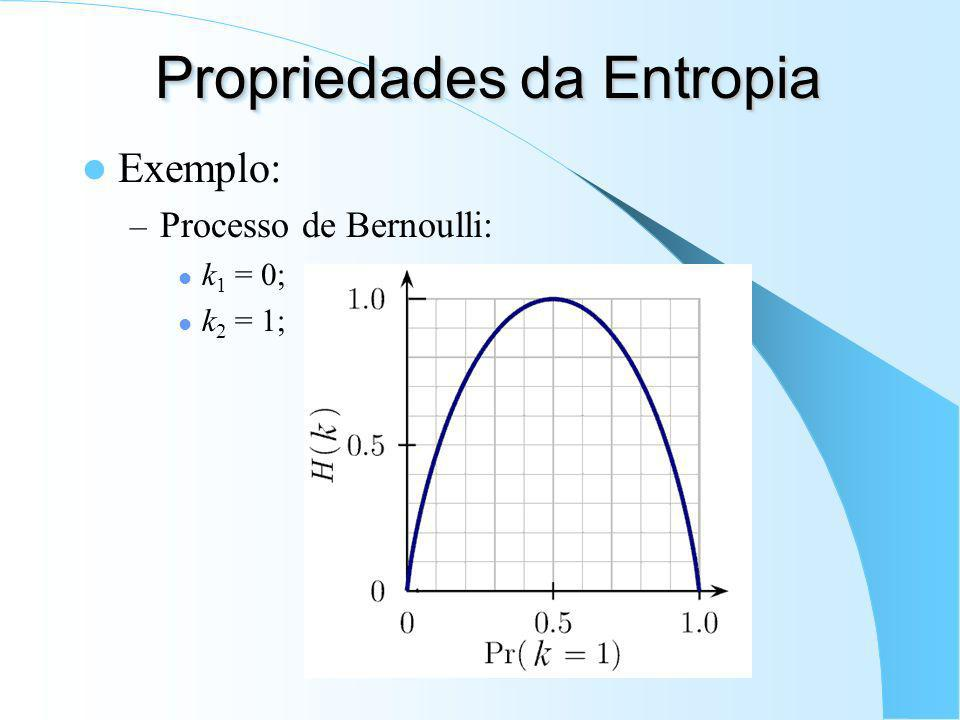 Propriedades da Entropia