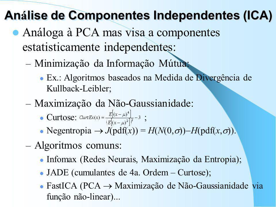 Análise de Componentes Independentes (ICA)
