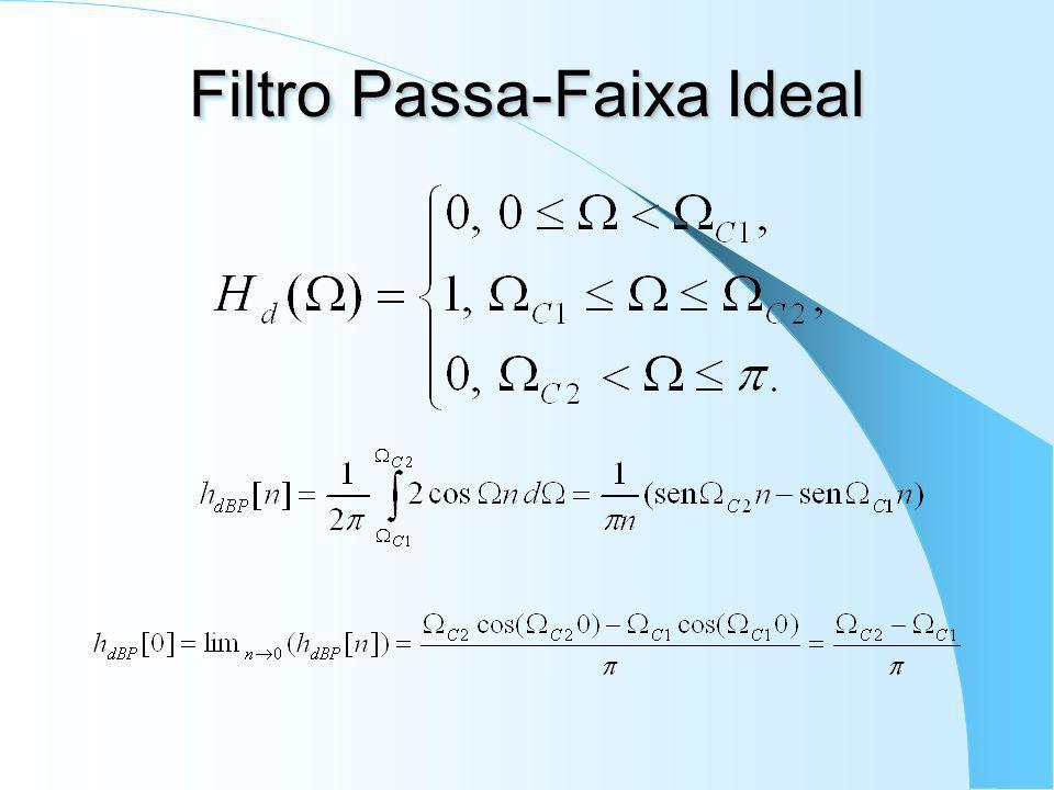 Filtro Passa-Faixa Ideal