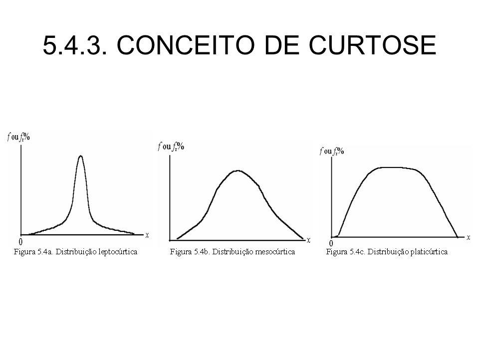 5.4.3. CONCEITO DE CURTOSE