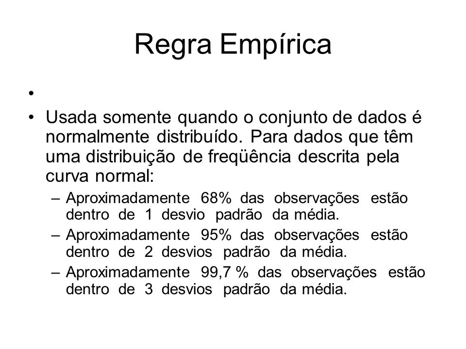 Regra Empírica