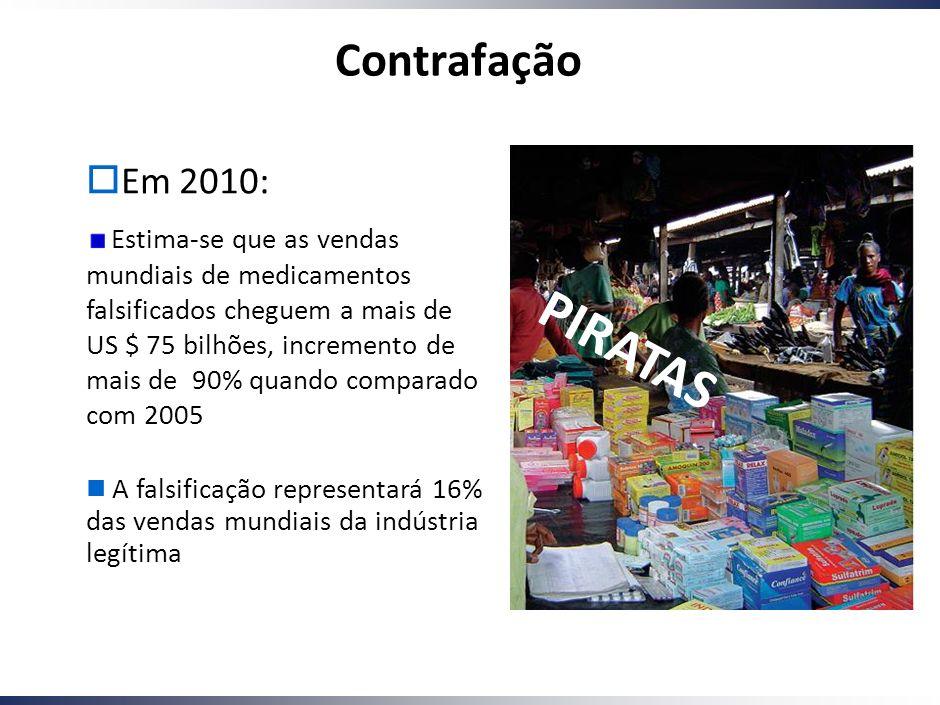 PIRATAS Contrafação Em 2010: