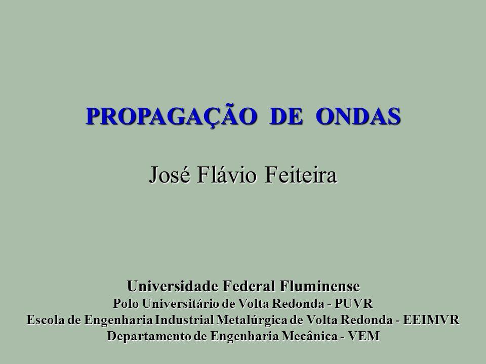 PROPAGAÇÃO DE ONDAS José Flávio Feiteira