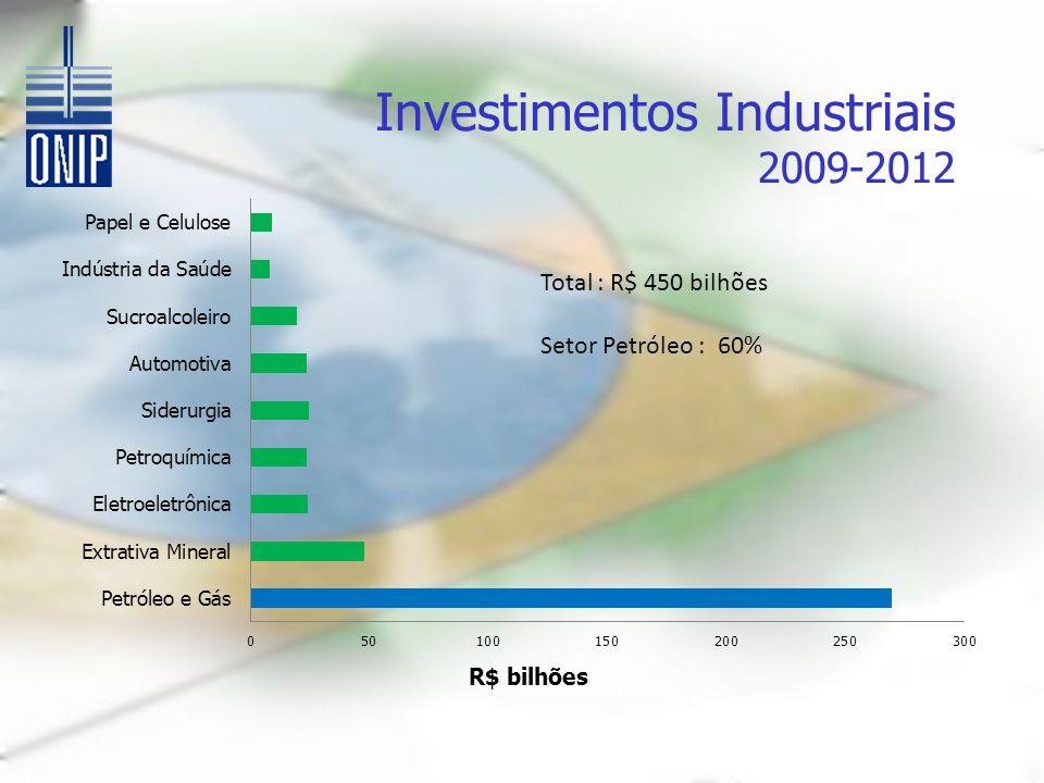 Investimentos Industriais 2009-2012