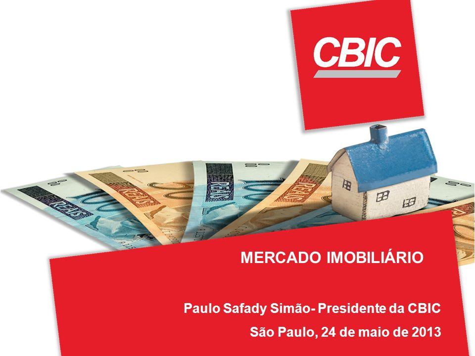 MERCADO IMOBILIÁRIO Paulo Safady Simão- Presidente da CBIC