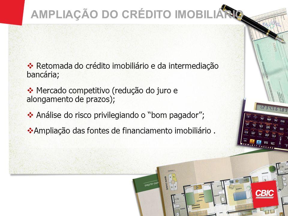 AMPLIAÇÃO DO CRÉDITO IMOBILIÁRIO