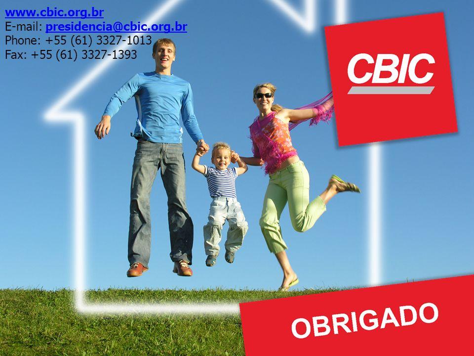 www.cbic.org.br E-mail: presidencia@cbic.org.br Phone: +55 (61) 3327-1013 Fax: +55 (61) 3327-1393