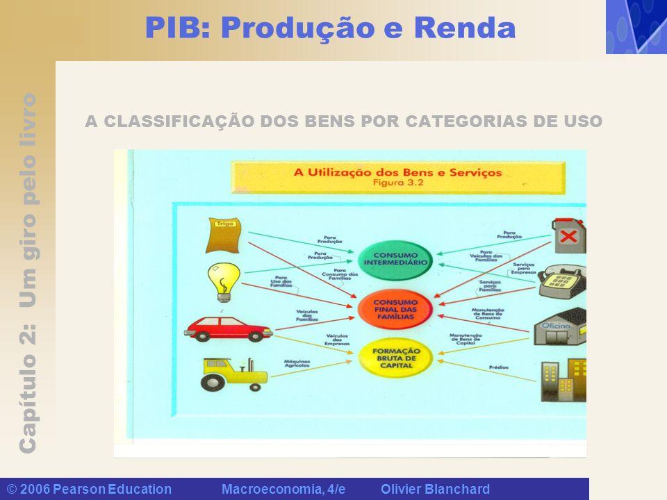 A CLASSIFICAÇÃO DOS BENS POR CATEGORIAS DE USO