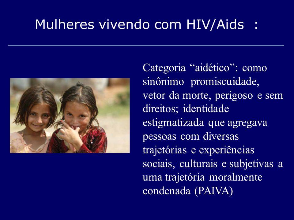 Mulheres vivendo com HIV/Aids :