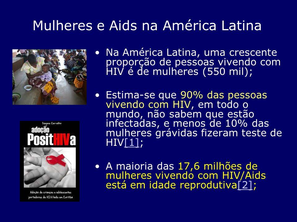 Mulheres e Aids na América Latina