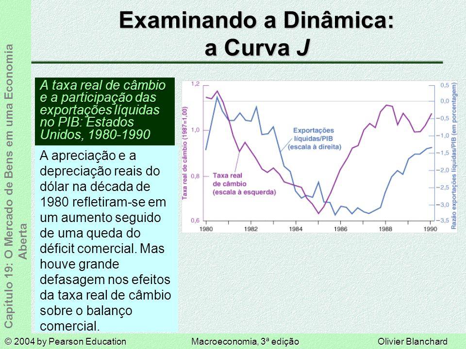 Examinando a Dinâmica: a Curva J