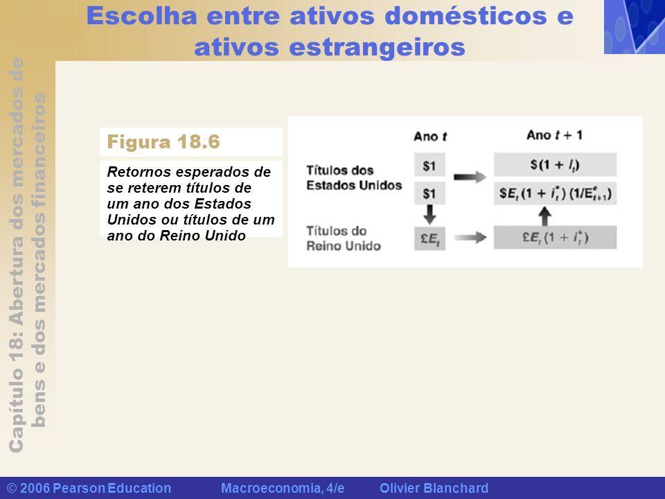 Escolha entre ativos domésticos e ativos estrangeiros