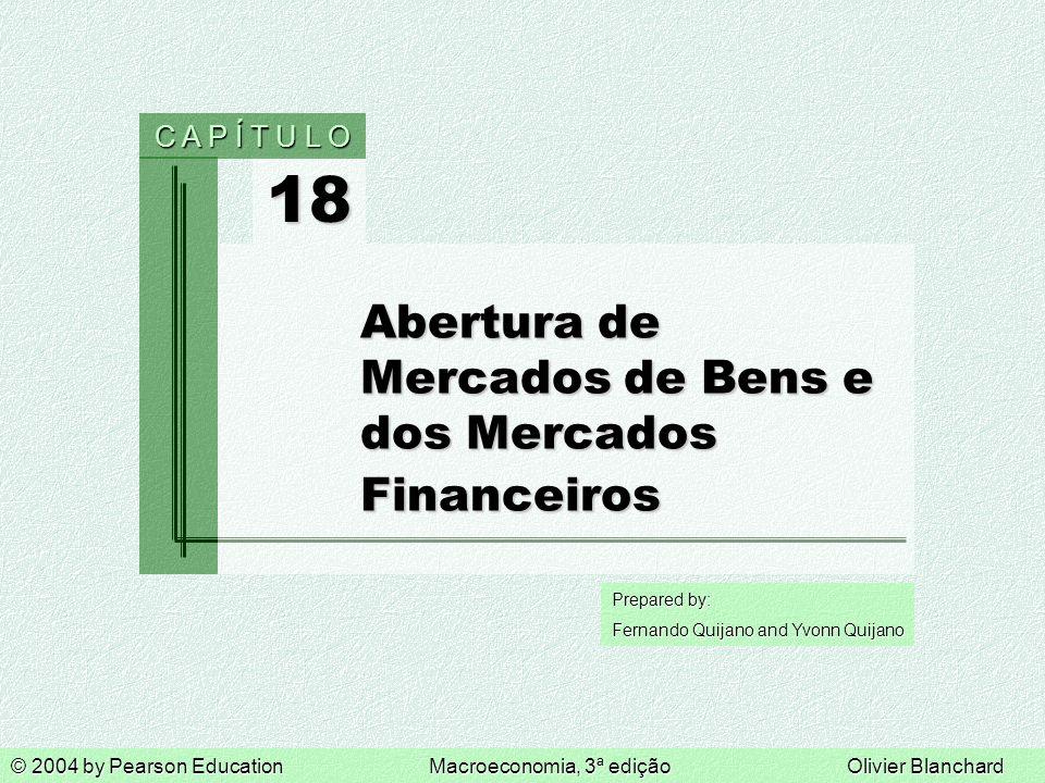 Abertura de Mercados de Bens e dos Mercados Financeiros
