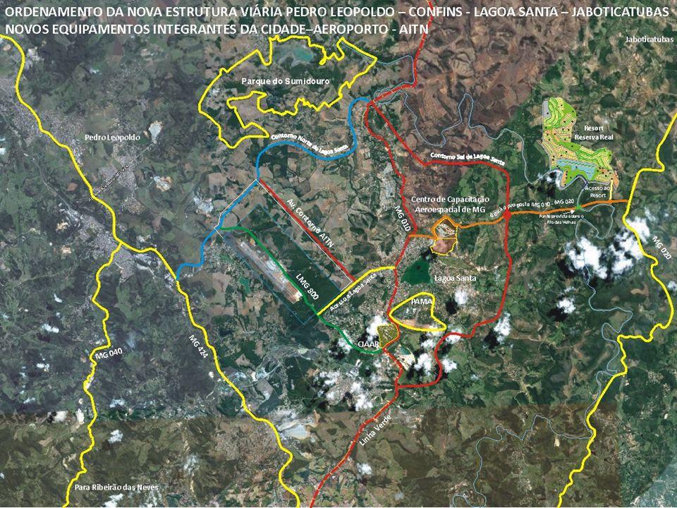 Outros projetosExtensão de Transporte sobre Trilhos até o Aeroporto Internacional. Novos canais de Irrigação – Jaíba fases 3 e 4;