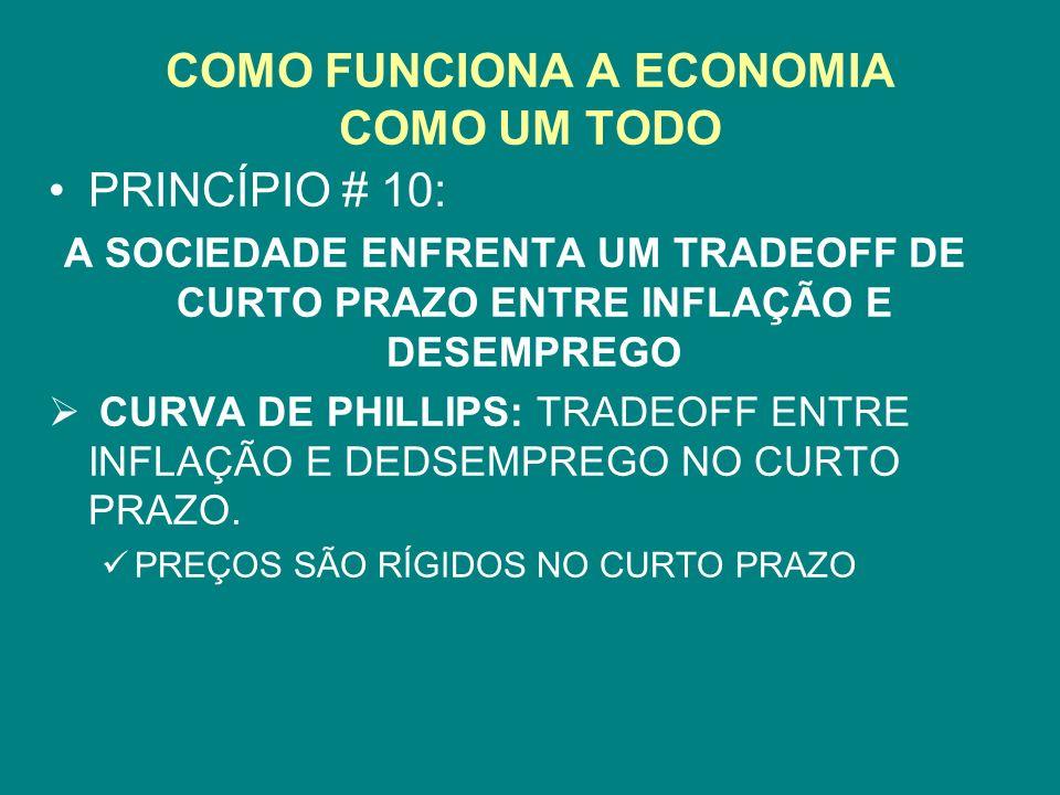 COMO FUNCIONA A ECONOMIA COMO UM TODO