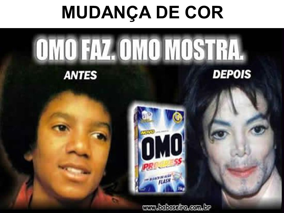 MUDANÇA DE COR