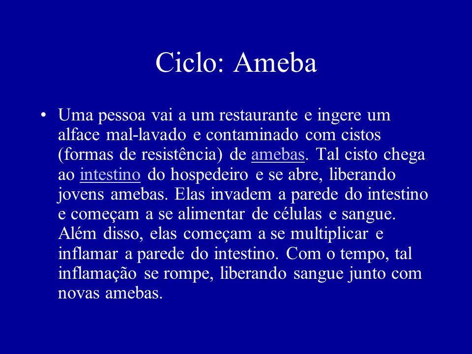 Ciclo: Ameba