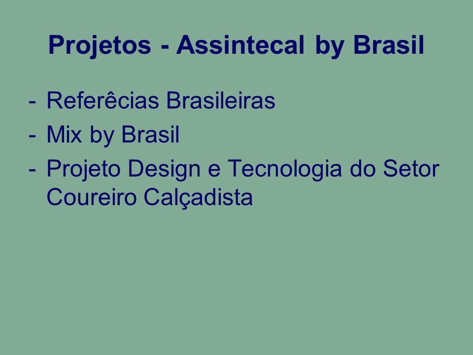 Projetos - Assintecal by Brasil