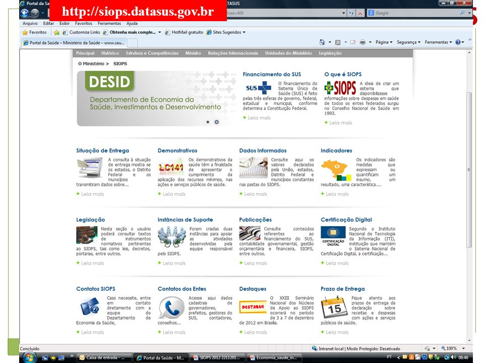 http://siops.datasus.gov.br