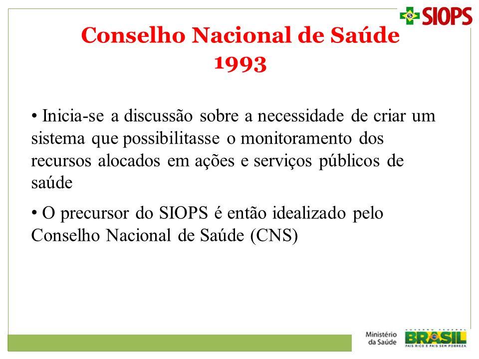 Conselho Nacional de Saúde