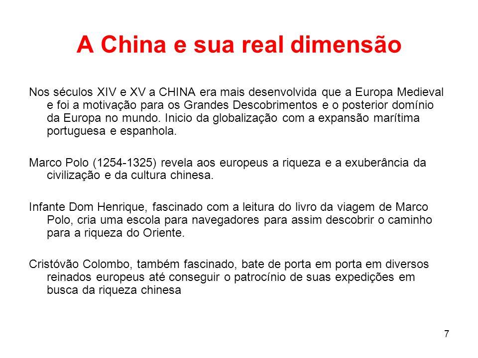 A China e sua real dimensão