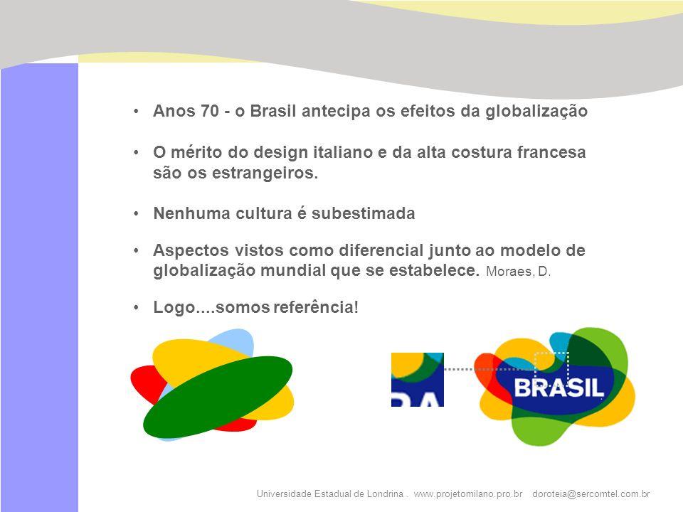 Anos 70 - o Brasil antecipa os efeitos da globalização